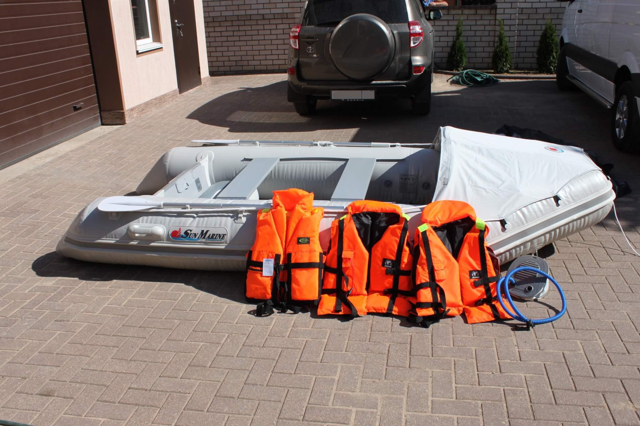 Надувная моторная лодка Sun Marine SM 360 новая