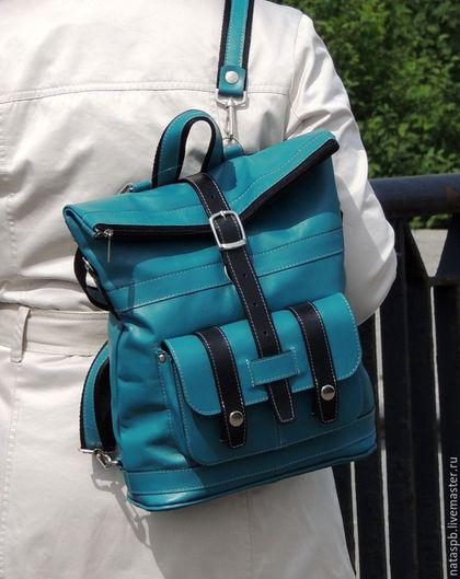 Кожаные рюкзаки ручной работы.