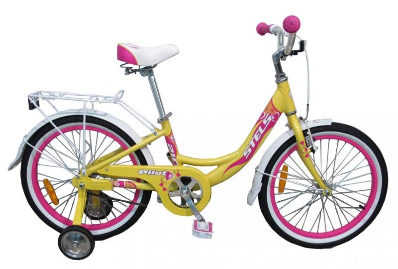 Детский велосипед Stels Pilot 210 Girl 2016