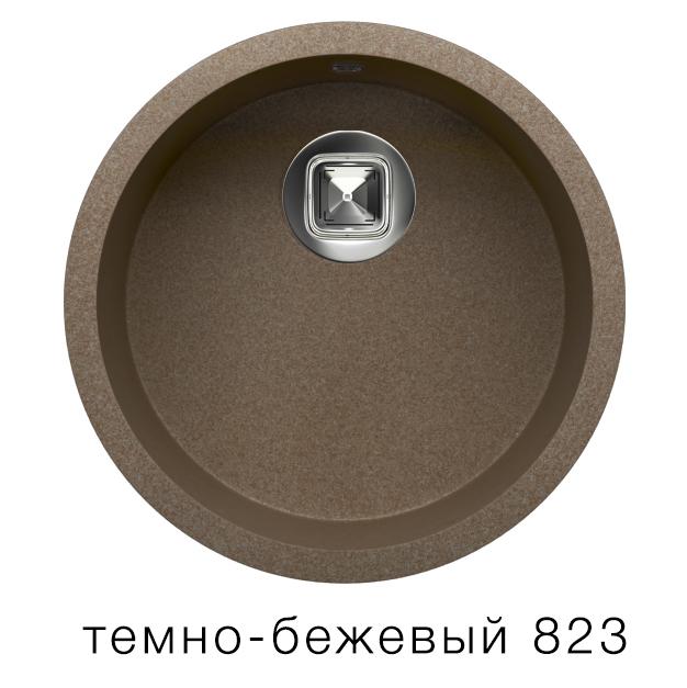 Мойка Tolero R-104 темно- бежевый 823